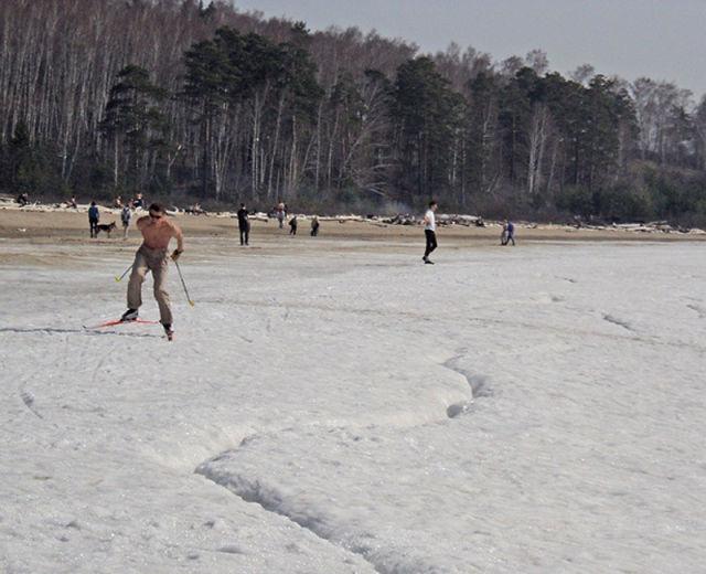 Um dia de praia na Sibéria 02