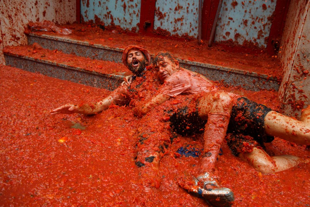 Tomatina: 16 fotos insanas da maior luta alimentar do mundo 03