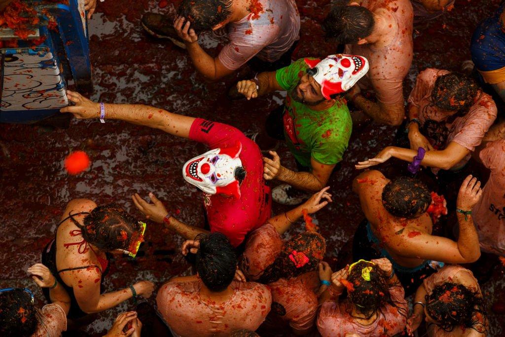 Tomatina: 16 fotos insanas da maior luta alimentar do mundo 04