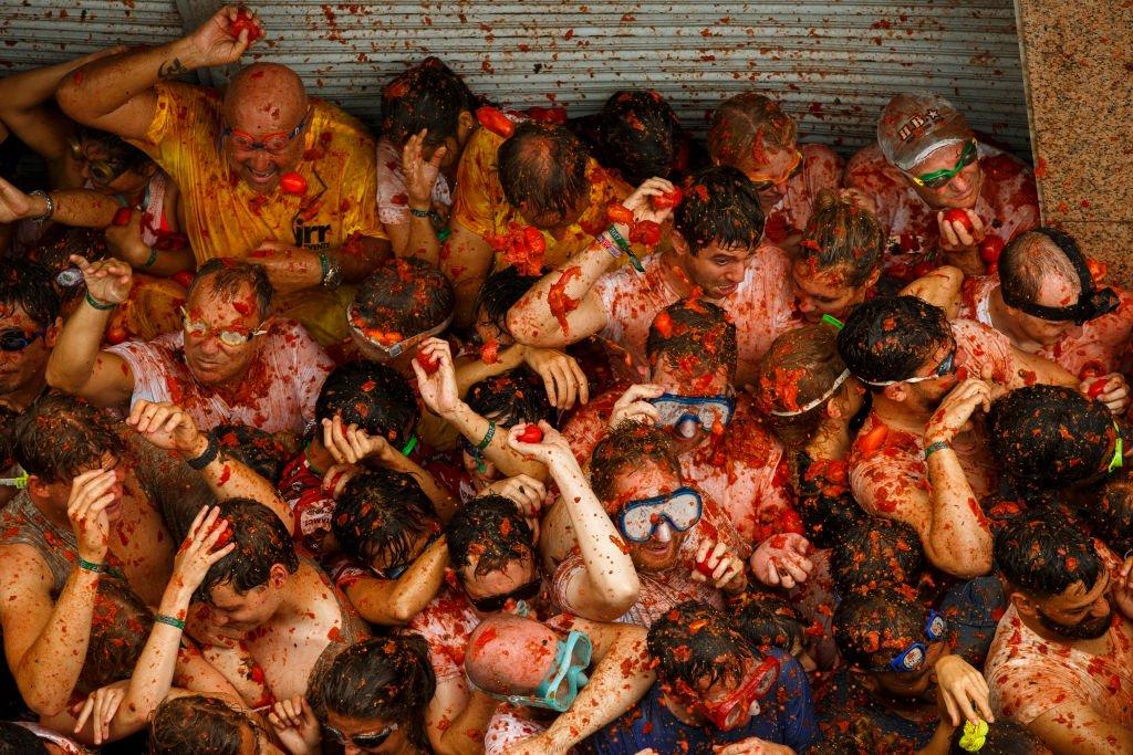 Tomatina: 16 fotos insanas da maior luta alimentar do mundo 06