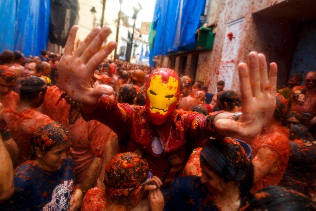 Tomatina: 16 fotos insanas da maior luta alimentar do mundo 08
