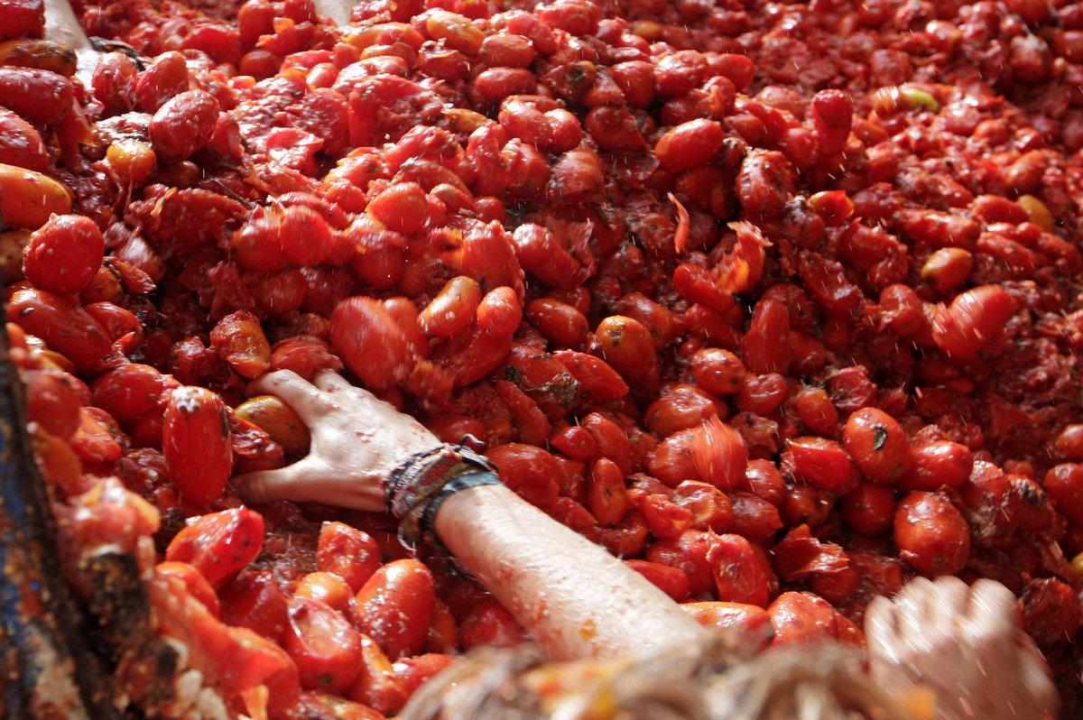 Banhados em tomate: as melhores fotos da Tomatina 2016 23