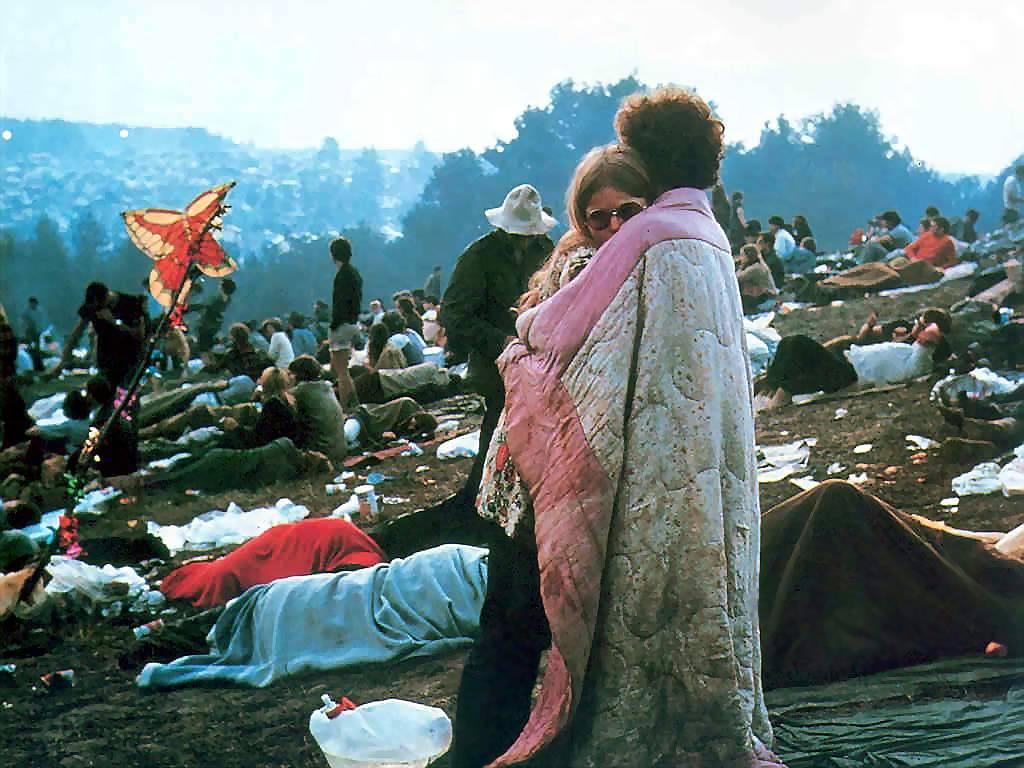 O festival de Woodstock em números e imagens