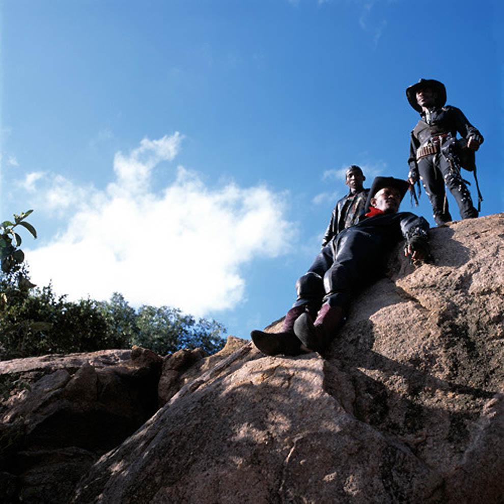 Os cowboys metaleiros de Botswana 14