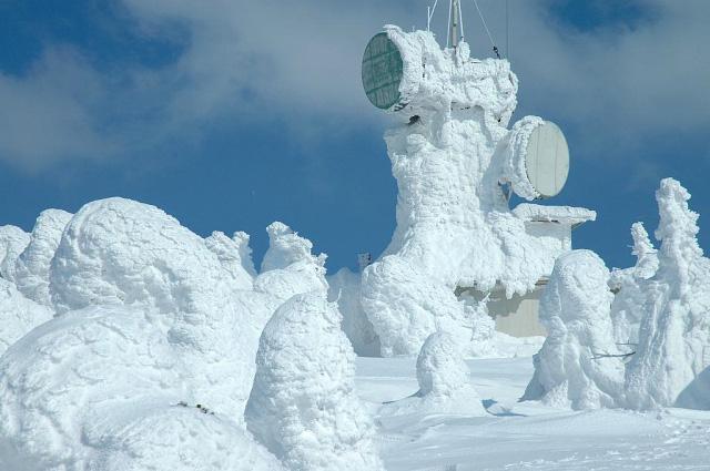 Juhyou, os belos monstros de neve japoneses 01