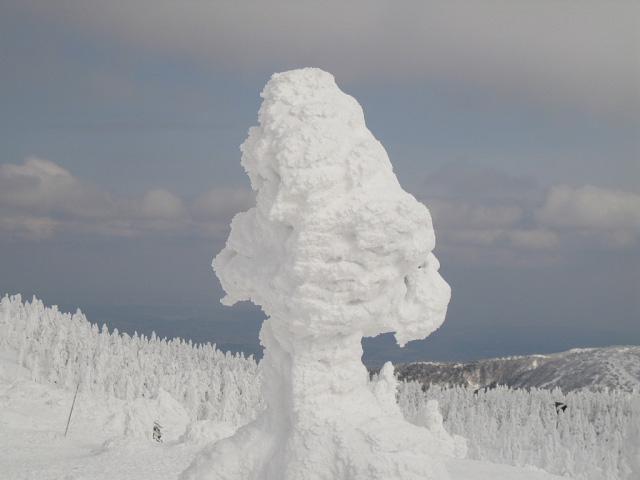 Juhyou, os belos monstros de neve japoneses 04