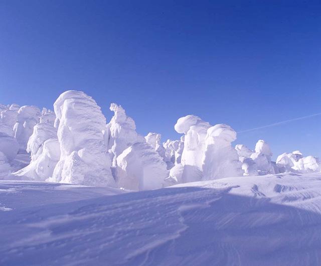 Juhyou, os belos monstros de neve japoneses 05