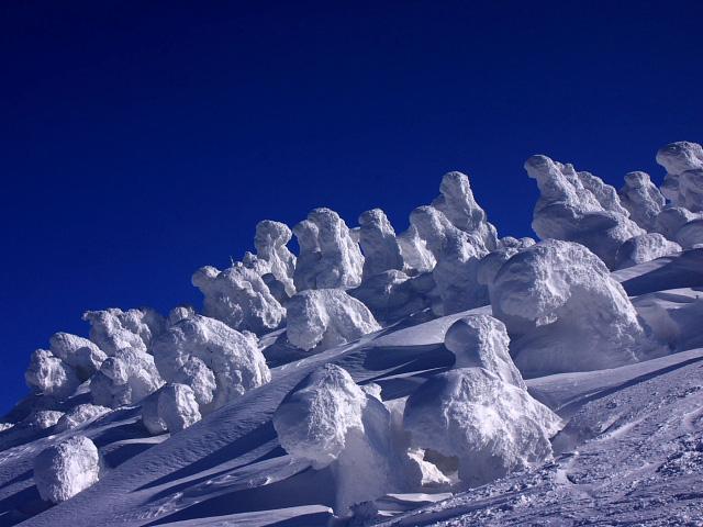 Juhyou, os belos monstros de neve japoneses 09