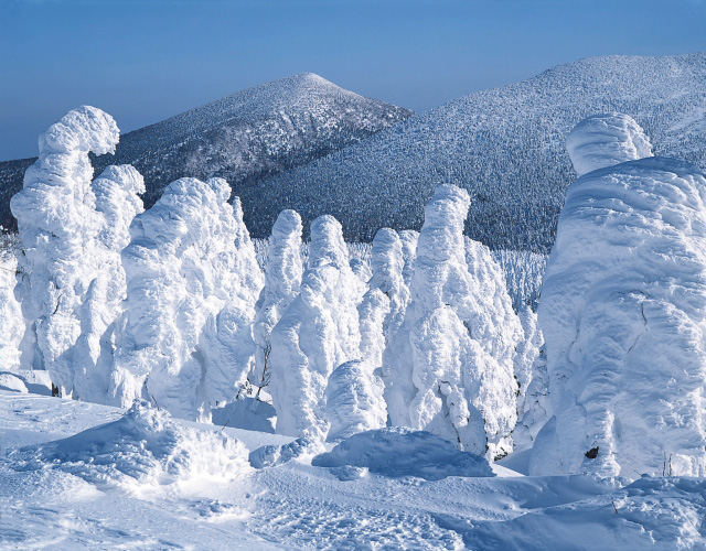 Juhyou, os belos monstros de neve japoneses 10