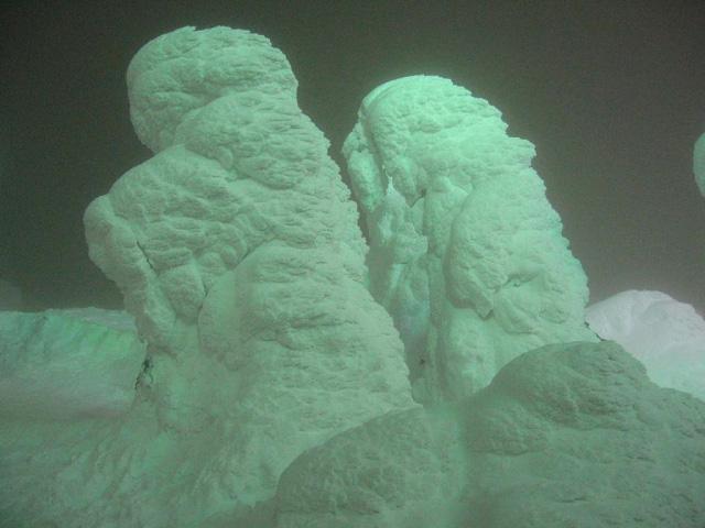 Juhyou, os belos monstros de neve japoneses 11
