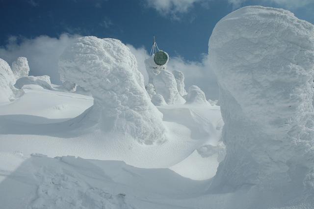 Juhyou, os belos monstros de neve japoneses 12