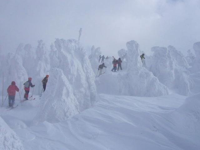 Juhyou, os belos monstros de neve japoneses 14