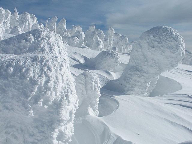 Juhyou, os belos monstros de neve japoneses 16