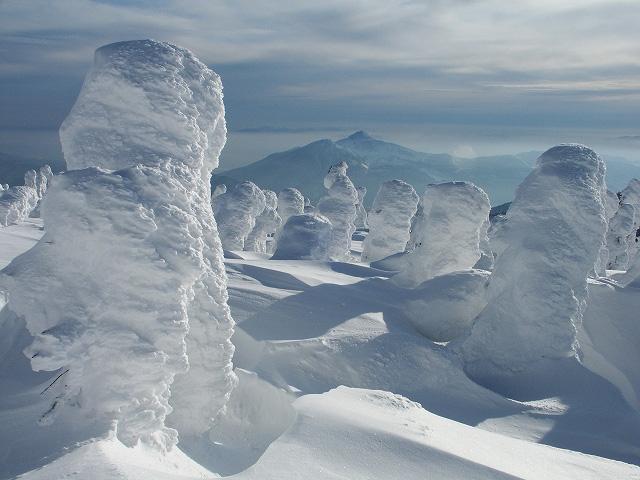 Juhyou, os belos monstros de neve japoneses 17