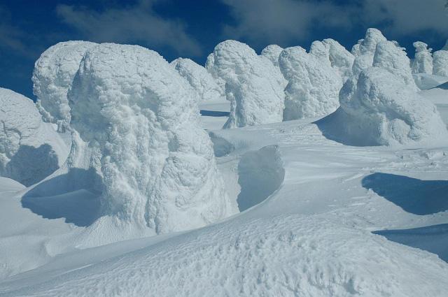 Juhyou, os belos monstros de neve japoneses 20
