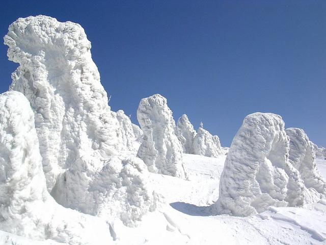 Juhyou, os belos monstros de neve japoneses 25