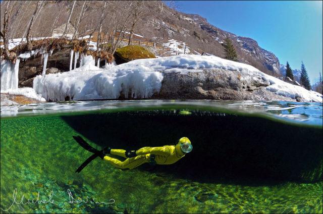 Fotógrafo captura a beleza cristalina de rio suíço 05