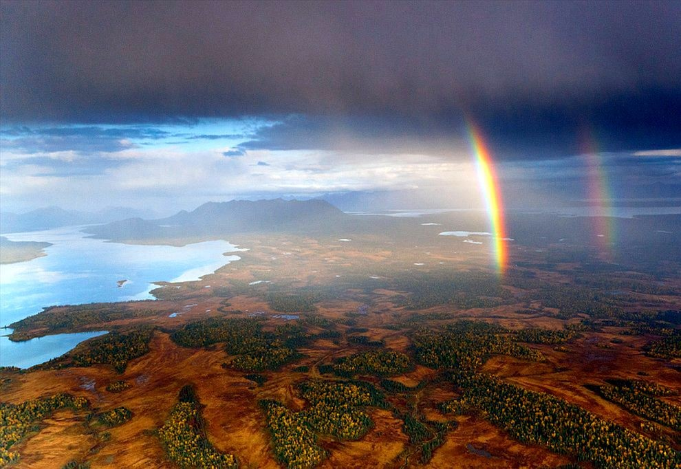 51 fotografias deslumbrantes de arco-íris duplo 01