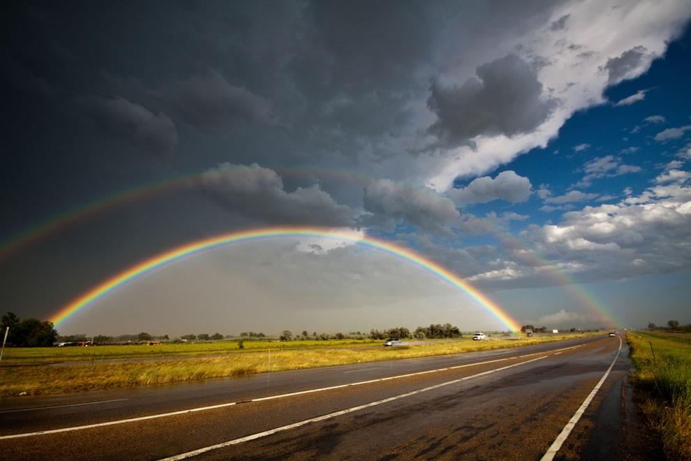 51 fotografias deslumbrantes de arco-íris duplo 02