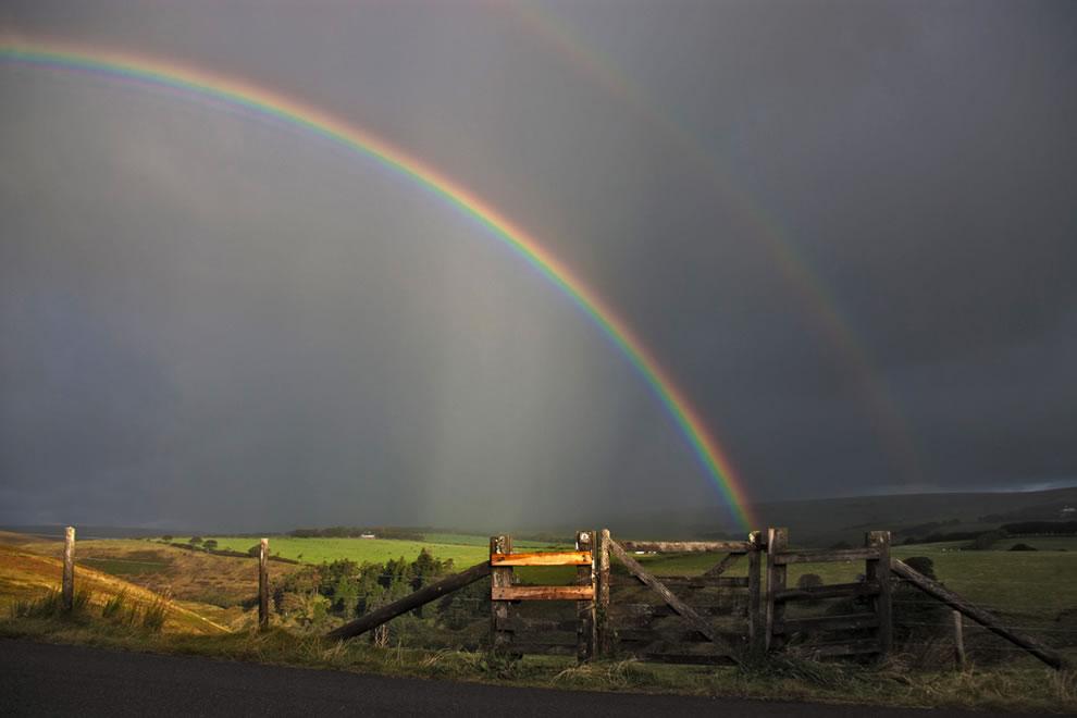 51 fotografias deslumbrantes de arco-íris duplo 10