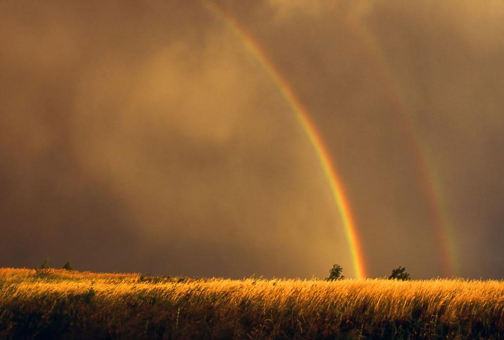 51 fotografias deslumbrantes de arco-íris duplo 11