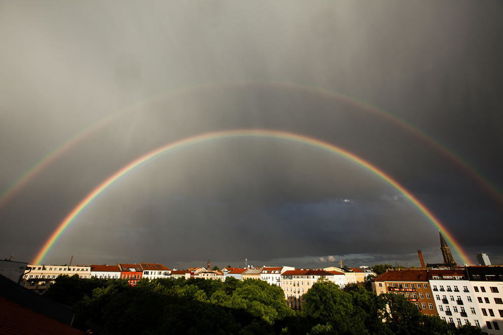 51 fotografias deslumbrantes de arco-íris duplo 15