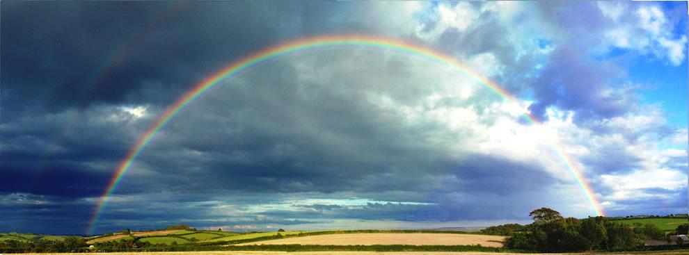 51 fotografias deslumbrantes de arco-íris duplo 18