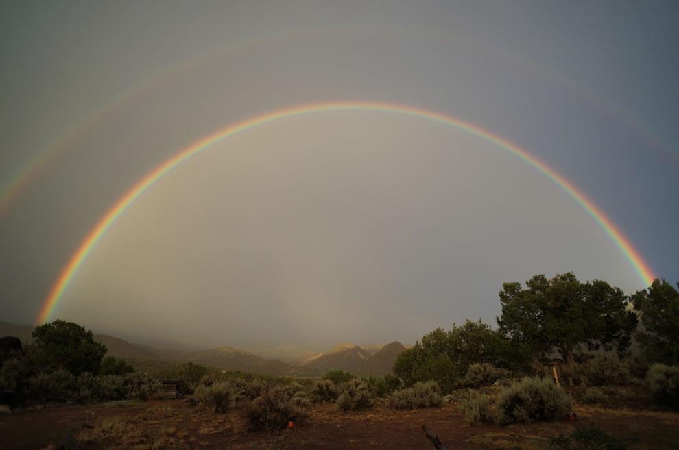 51 fotografias deslumbrantes de arco-íris duplo 19