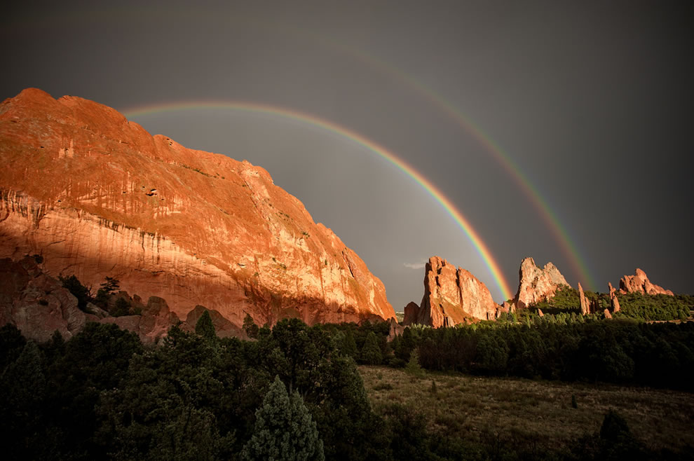 51 fotografias deslumbrantes de arco-íris duplo 34