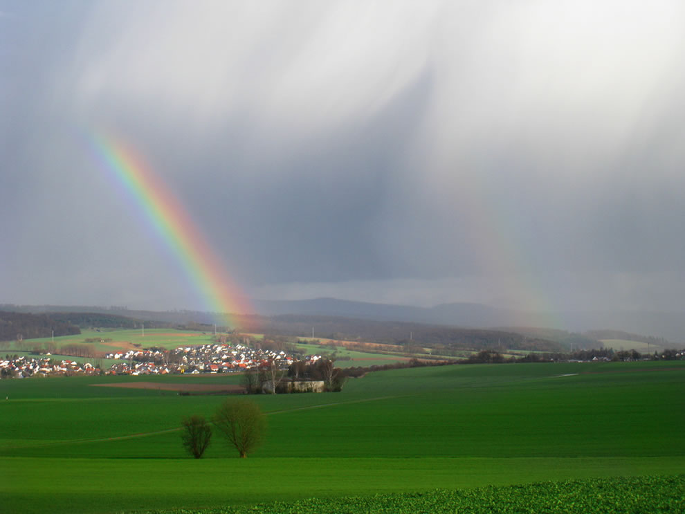 51 fotografias deslumbrantes de arco-íris duplo 35