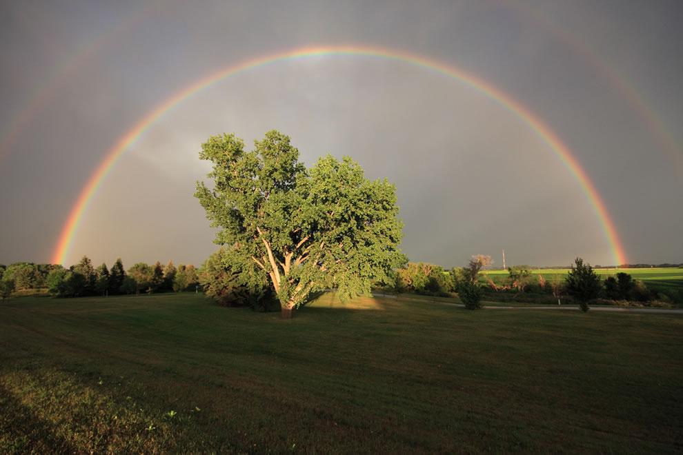 51 fotografias deslumbrantes de arco-íris duplo 37