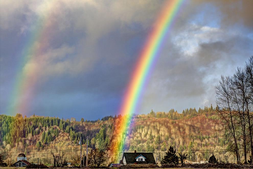 51 fotografias deslumbrantes de arco-íris duplo 38