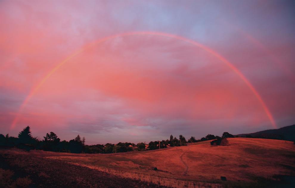51 fotografias deslumbrantes de arco-íris duplo 42