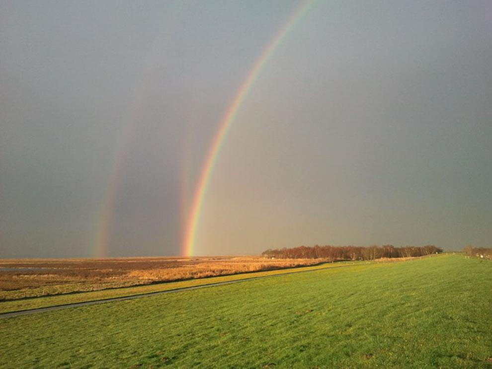 51 fotografias deslumbrantes de arco-íris duplo 43