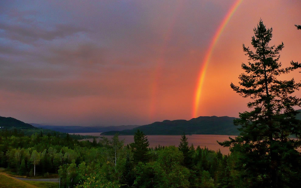 51 fotografias deslumbrantes de arco-íris duplo 44