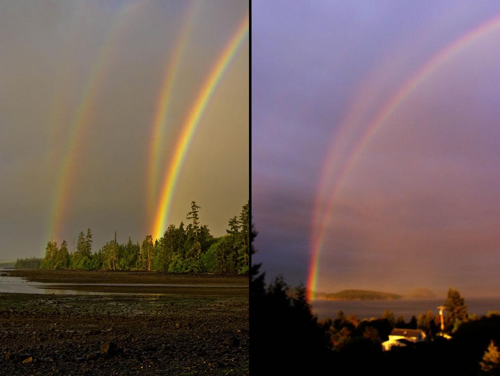 51 fotografias deslumbrantes de arco-íris duplo 45