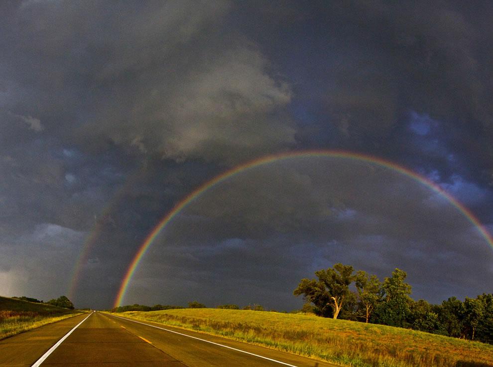 51 fotografias deslumbrantes de arco-íris duplo 49