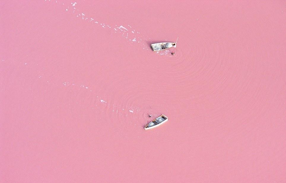 Lago Rosa no Senegal 06