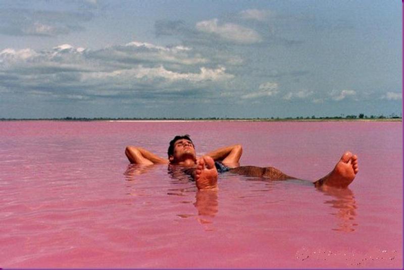 Lago Rosa no Senegal 10