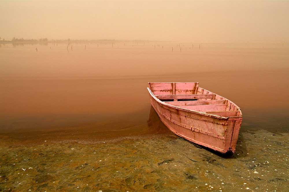 Lago Rosa no Senegal 13