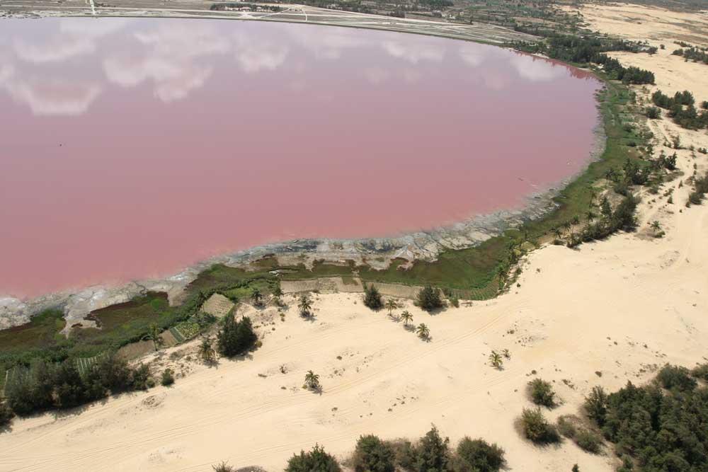 Lago Rosa no Senegal 15