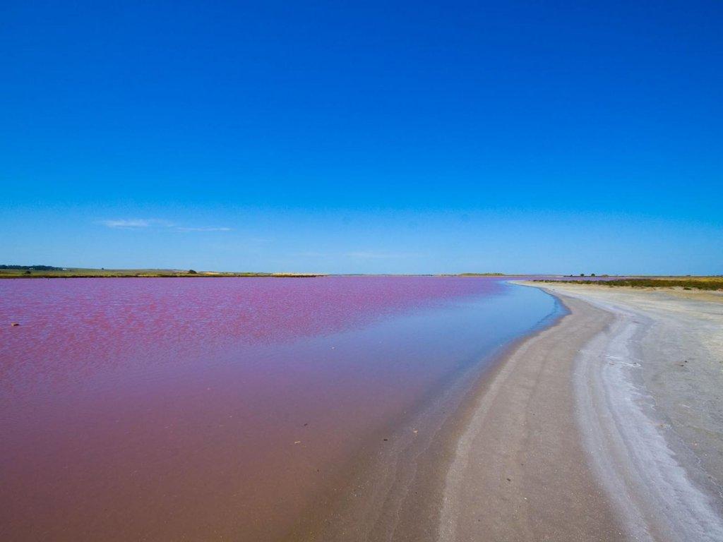 Lago Rosa no Senegal 19
