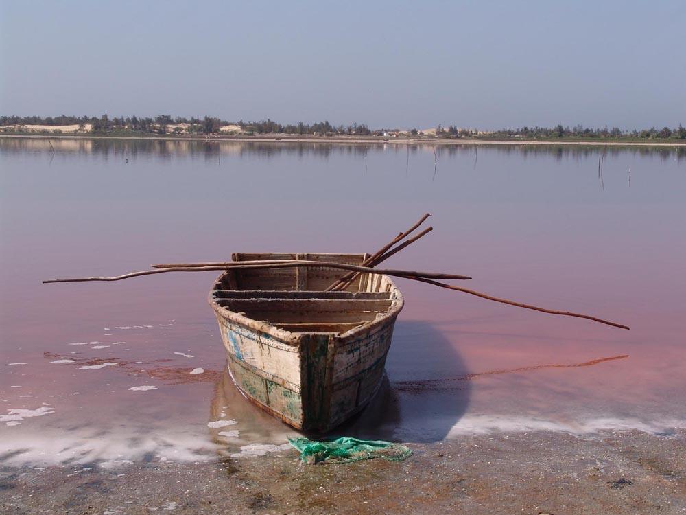 Lago Rosa no Senegal 20