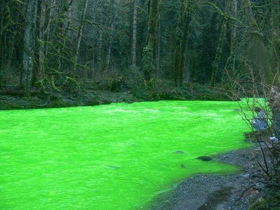 Um rio verde no Canadá 03