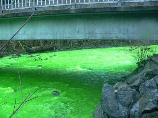 Um rio verde no Canadá 05