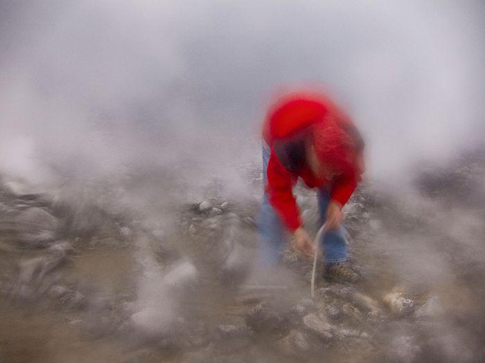 A cratera do vulcão Nyiragongo 04