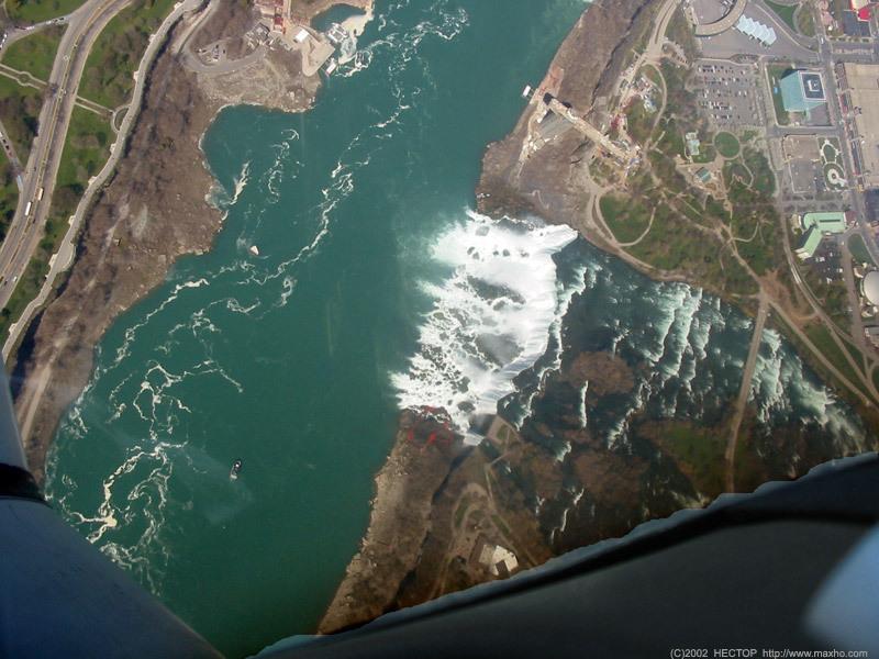 Cataratas do Niágara (Vista Aérea)