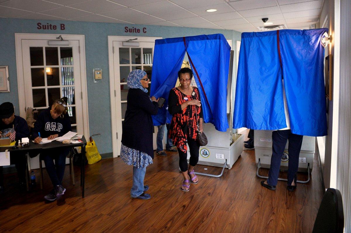 24 dos lugares mais estranhos onde os americanos votaram no dia de eleição 04