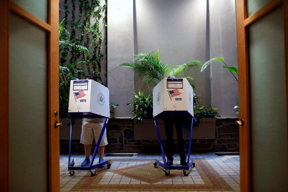 24 dos lugares mais estranhos onde os americanos votaram no dia de eleição 08