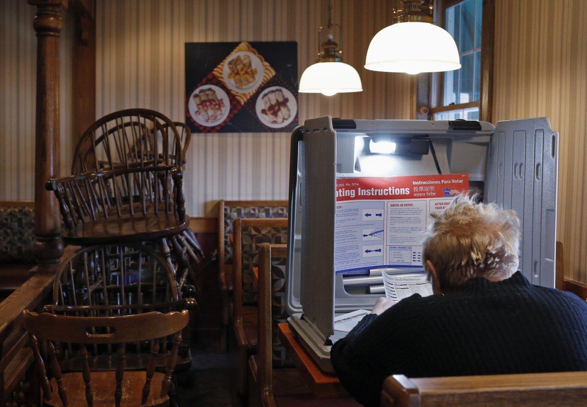 24 dos lugares mais estranhos onde os americanos votaram no dia de eleição 15